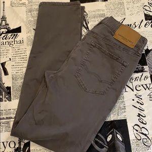 Dark grey khakis